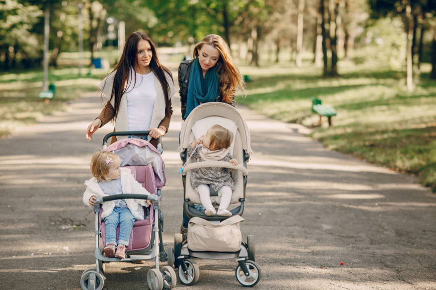 Strollers - tips to use them effectively